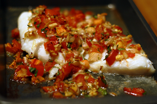 Baked Haddock – 25 Minutes to Feed 'em | My Kitchen Counter