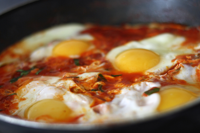 Skillet Eggs Recipe