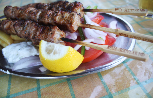 Traditional Souvlaki