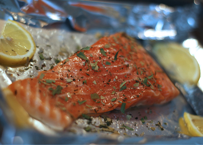 Trout with French Herbs Recipe