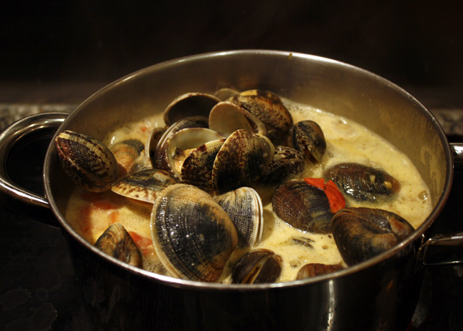 coconut clam curry recipe