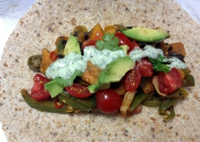 sweet potatoes and black beans burrito recipe
