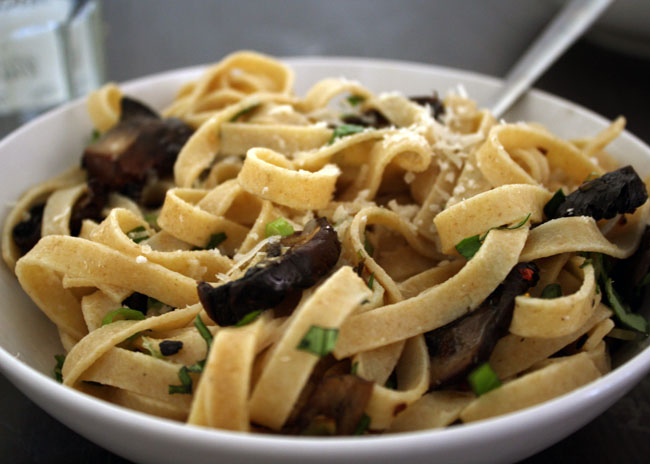 simple mushroom pasta recipe