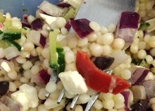 pearl couscous salad recipe