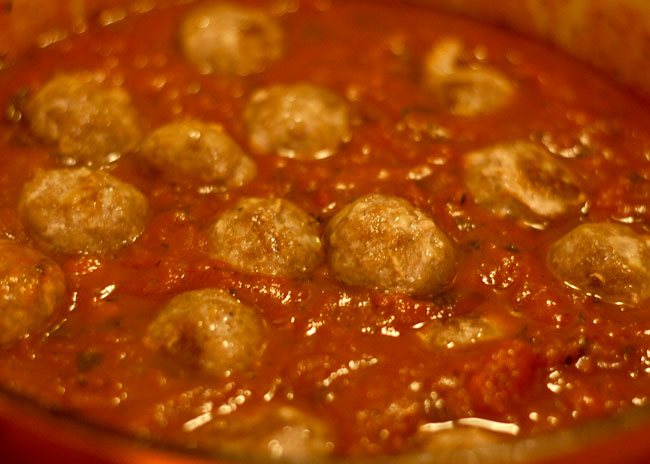 pork and fennel meatballs recipe