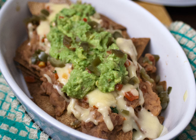 new year's resolution healthier nachos